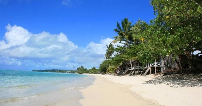 Biển An Bàng nơi dự án Shantira Beach Resort & Spa tọa lạc.