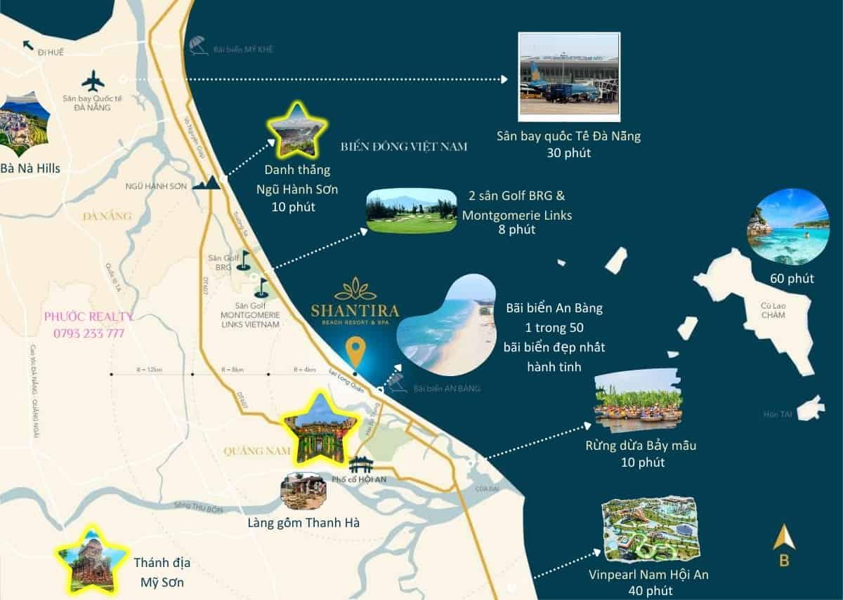 Vị Trí Shantira Beach Resort & Spa