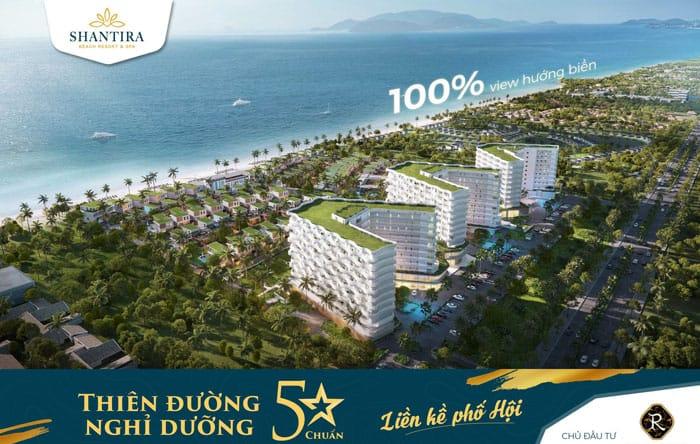 Phối cảnh dự án Shantira Beach Resort & Spa Hội An