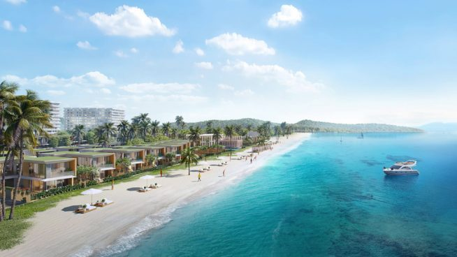 Phối cảnh biệt thự biển Shantira Beach Resort & Spa