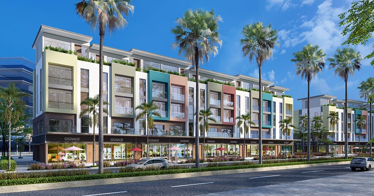 Mẫu Nhà Shophouse Meyhomes Capital Phú Quốc