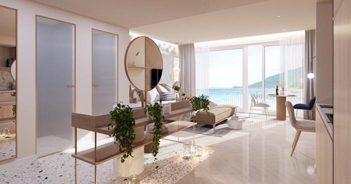 Mẫu căn 1 phòng ngủ – Căn hộ Resort Biển