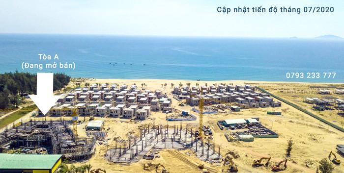 Tiến độ thi công dự án Shantira Beach Resort & Spa