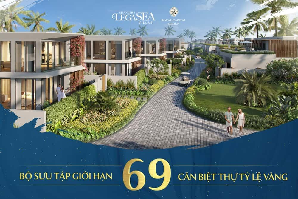 Biet Thu Ti Le Vang Shantira Legasea Villas